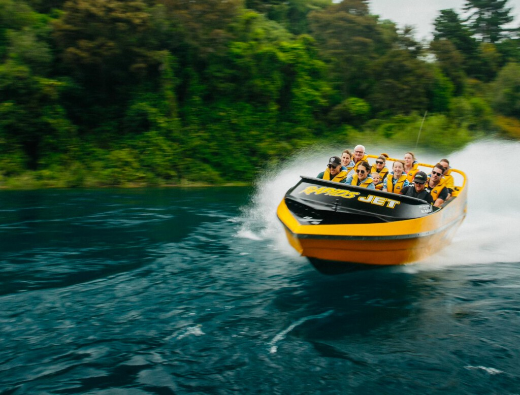 Jet boat ride - Rapids Jet
