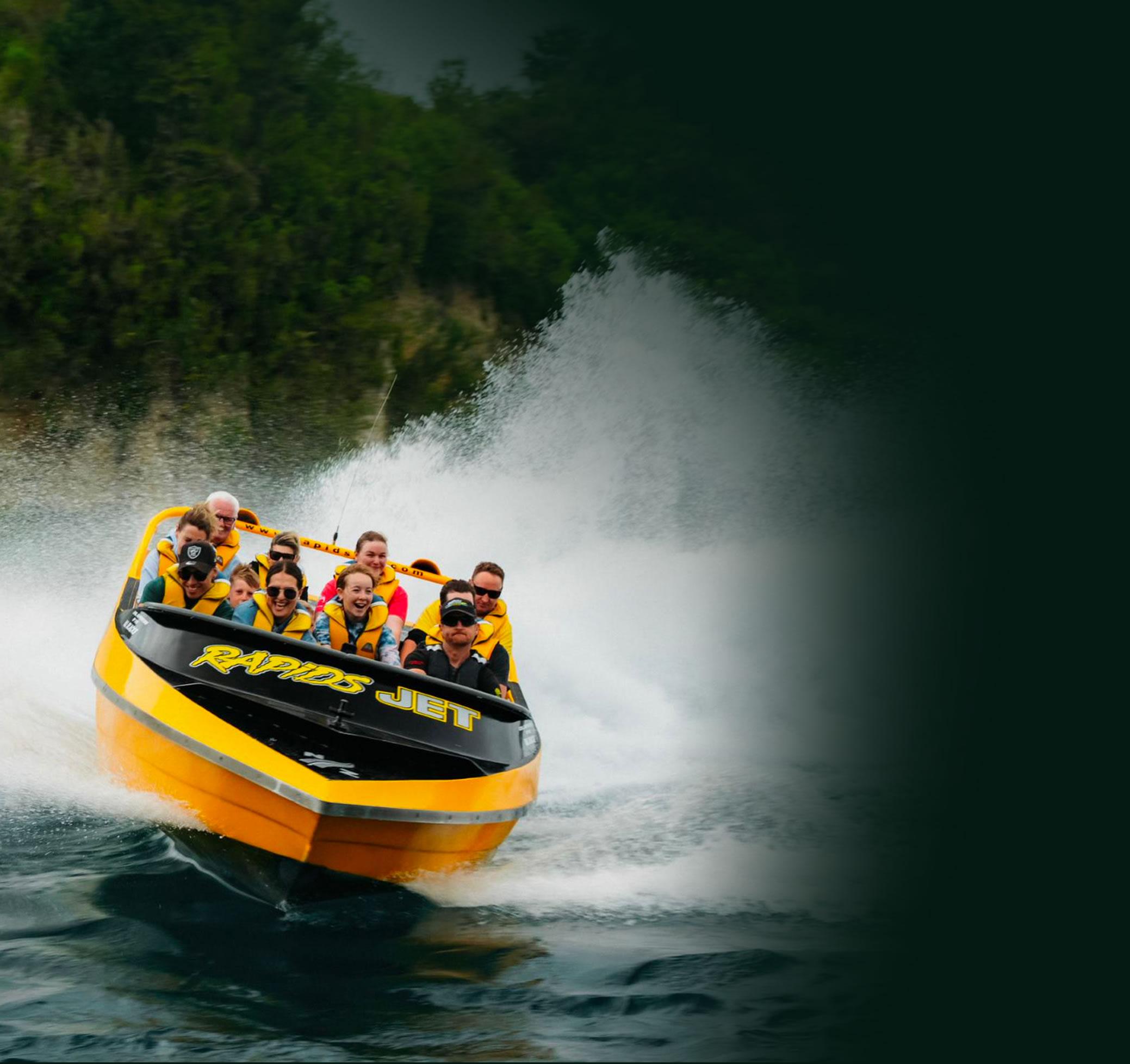 River Cruise - Rapids Jet