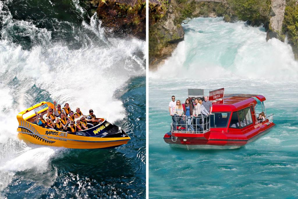 Huka Falls River Cruise - Rapids Jet